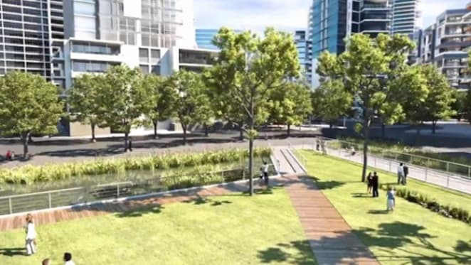 Pedestrian only streets slated for Green Square