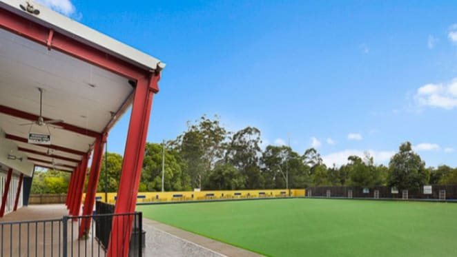 Bowling club green in Queensland's Highfields on the market