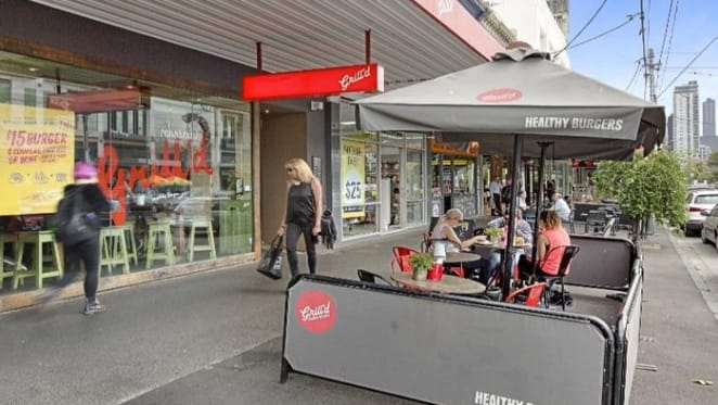 Grill'd South Melbourne premises sell