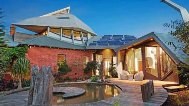 Gryphon House, modelled on a mythical beast, sells in Elwood
