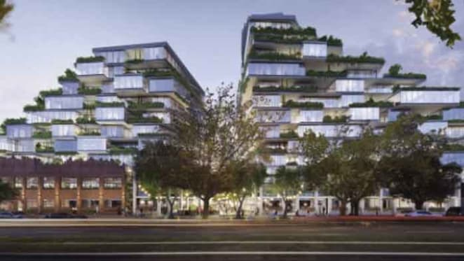 Tim Gurner proposes paddy fields-inspired North Fitzroy project