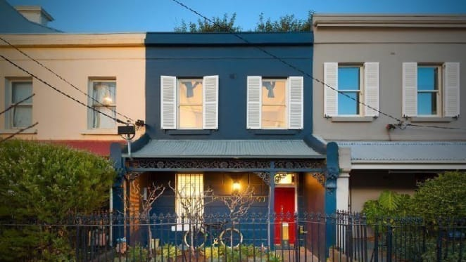 Hamish Blake and Zoe Foster sell in Fitzroy