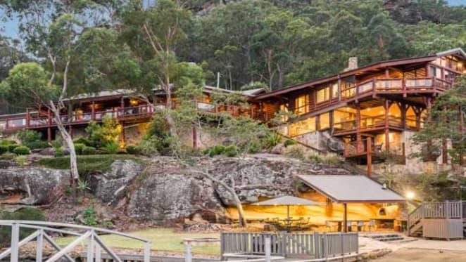 Hawkesbury River log cabin Sentry Rock sold to Louise Cordina