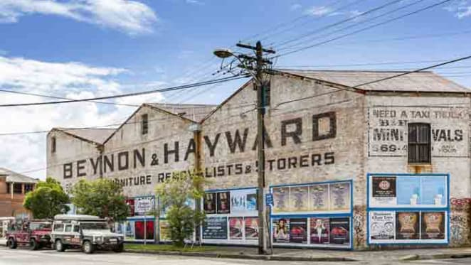 Century-old warehouse in Sydney's Petersham up for auction