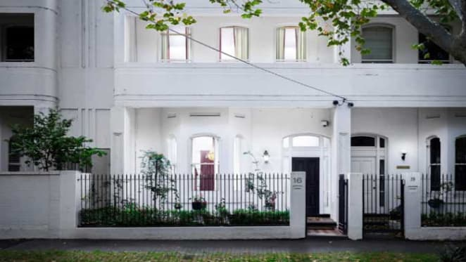 Fashion designer Alannah Hill lists St Kilda West terrace
