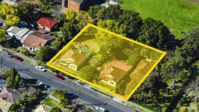 Site with potential for apartments in Sydney's Hornsby for sale