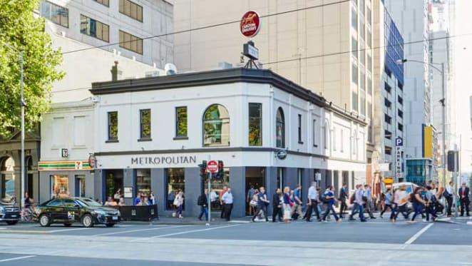Metropolitan Hotel in Melbourne CBD sold under the hammer for $8.61 million