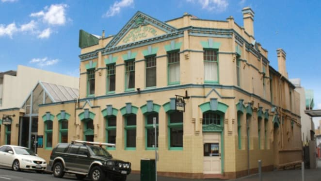 Hobart's 1830s Cascade Theatre Royal Hotel for sale