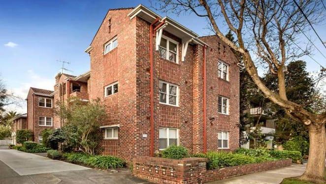 Actor Brett Tucker lists St Kilda East apartment