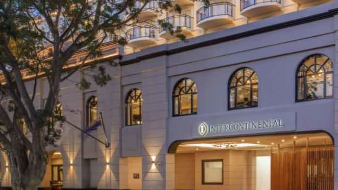 Sydney's five-star InterContinental Double Bay listed
