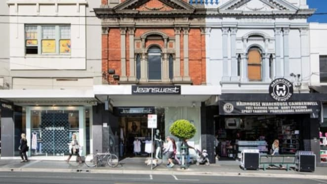 Jeanswest, Burke Road Camberwell retail store sells at $3.21 million