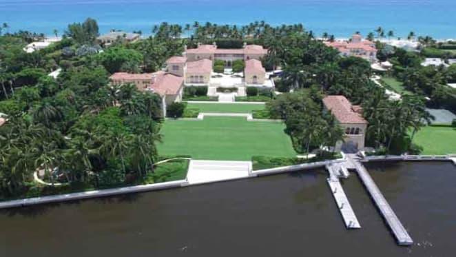 Tech billionaire Jim Clark and wife Kristy Hinze list mega mansion at Palm Beach, Florida