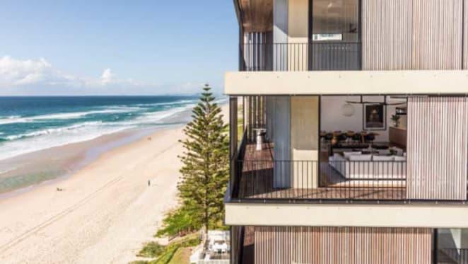 Harvey Norman CEO Katie Page's Main Beach, Gold Coast development