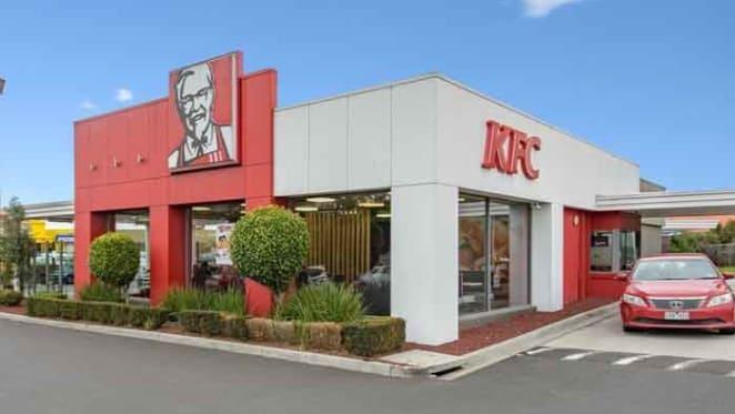 KFC store sells at record low yield