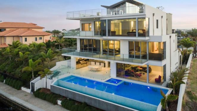 Waterfront Sovereign Islands home listed for auction