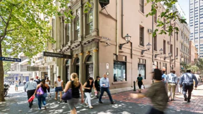 Kozminsky building on Bourke Street, Melbourne sold