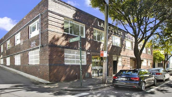 La Gonda warehouse in Chippendale up for auction