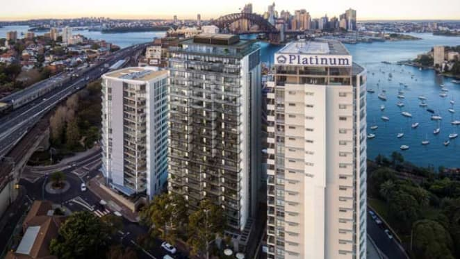 Both of Aqualand's Blue at Lavender Bay penthouses now sold