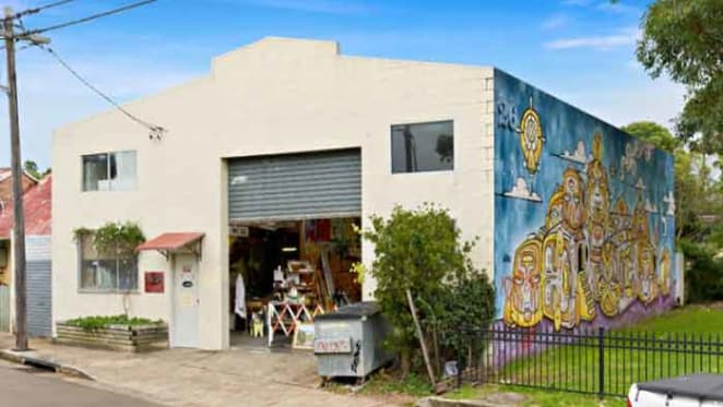 Leichhardt warehouse offering up for auction