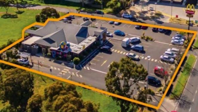 One with the lot - McDonald's Geelong listed for October auction with $2 million plus expectations