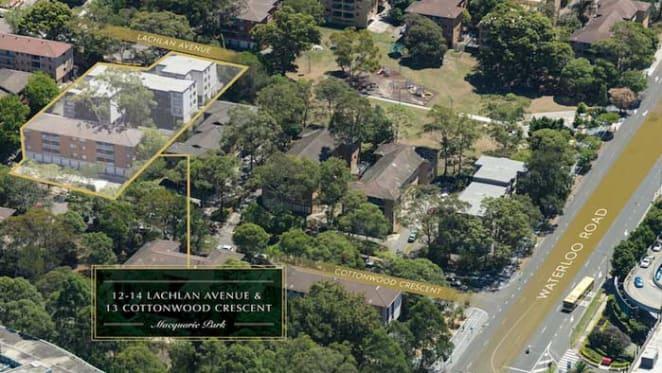 Neighbours of Macquarie Park's $80 million property sale list