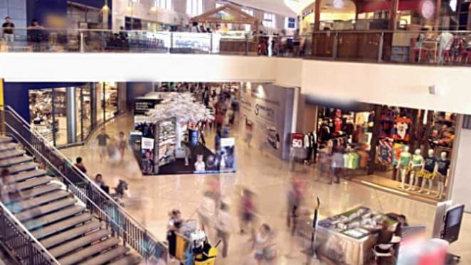 Future of shopping is bricks and mortar