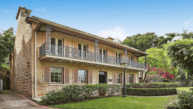 Darling House, the 1842 Millers Point home