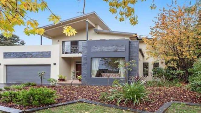 Modern two-storey Deakin house sold for $1.694 million