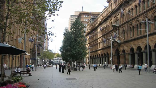 Outdoor dining key to Martin Place makeover