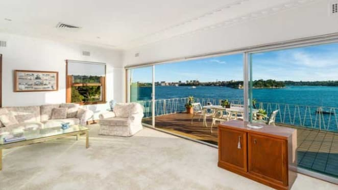 Harbourfront McMahons Point weekend's most expensive sale