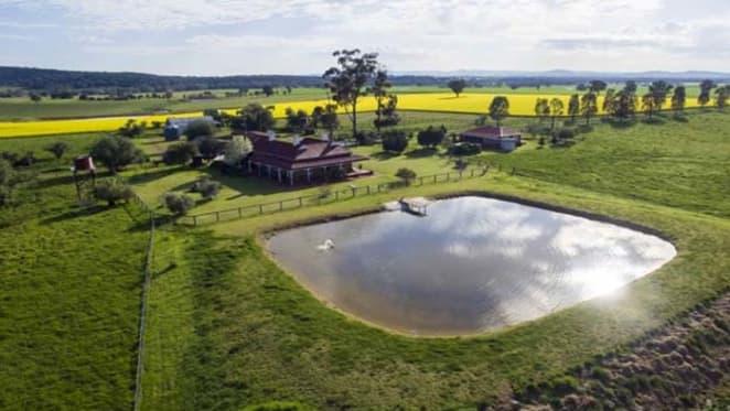 Belinda Green's Glen Echo farm passed in at auction