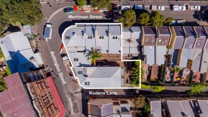 Block of 12 apartments listed at Millers Point