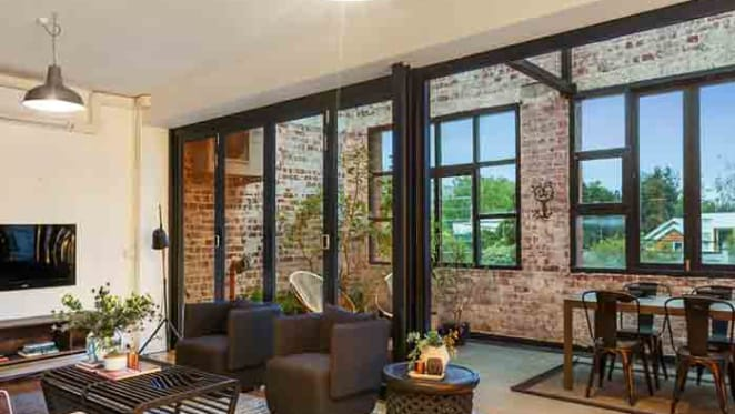 Melissa 'Missy' Higgins has listed her warehouse conversion