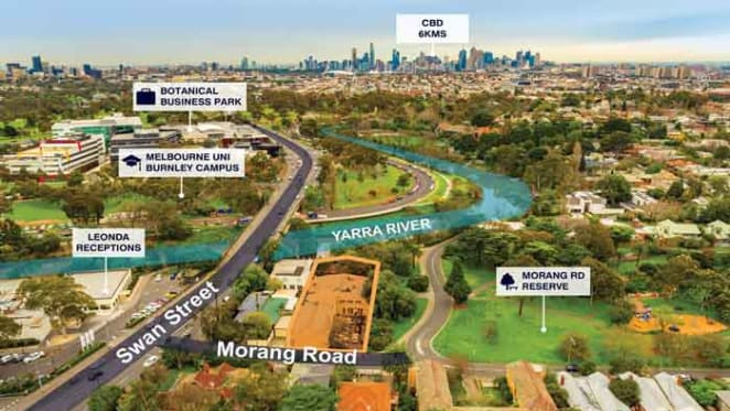 $4 million expected for rare river frontage site in Hawthorn