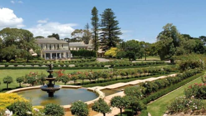 One of Victoria's largest rose gardens listed for sale at Mt Eliza's Kimderella
