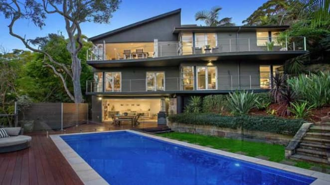 Wesfarmers chief financial officer Anthony Gianotti selling Mosman mansion