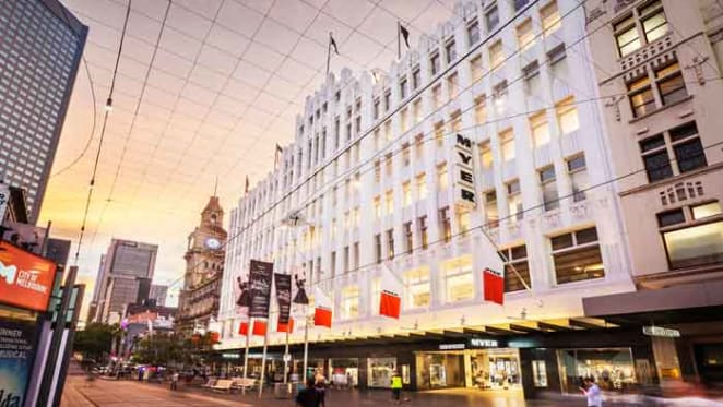 $151.3 million stake purchased in Myer Melbourne on Bourke Street Mall