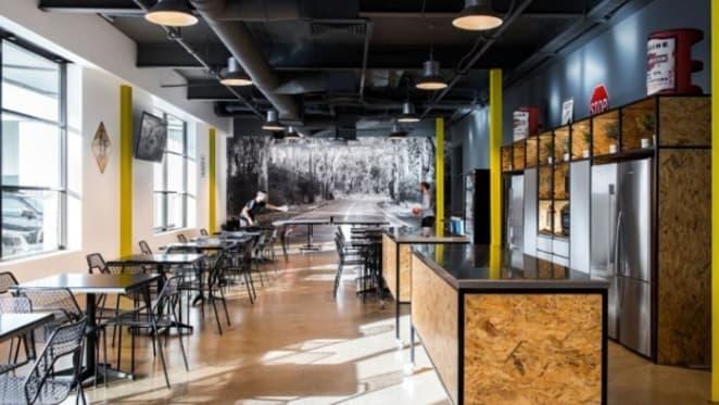 Futurespace designs new futurist MYOB office in Melbourne's Richmond
