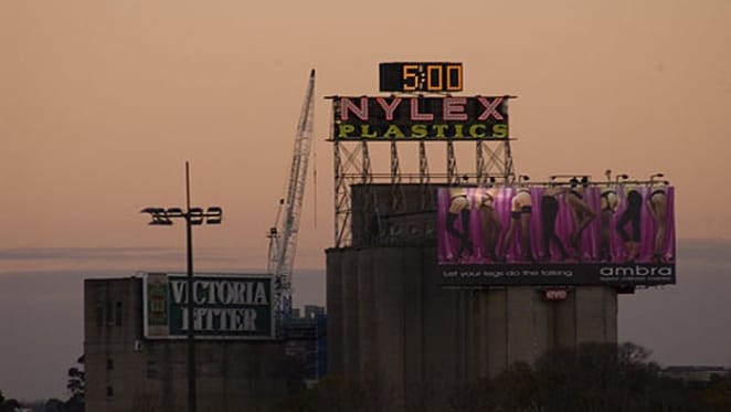 Nylex clock to star in Melbourne's new 'Malt District'