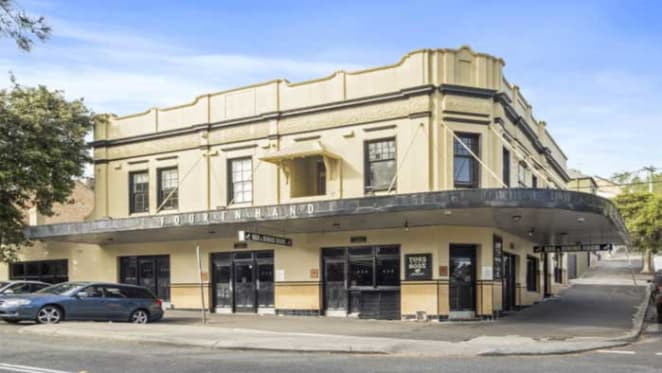 Four In Hand, Paddington hotel for sale