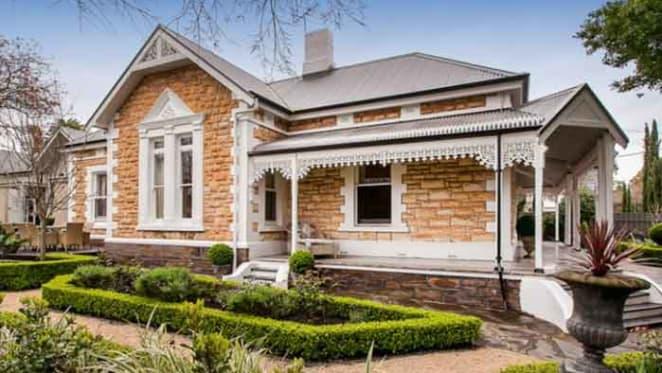 1880's sandstone villa in Adelaide up for sale