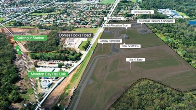 Walker Corp's North Point industrial park in Queensland gets new tenant; near sold out