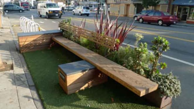 A day for turning parking spaces into pop-up parks
