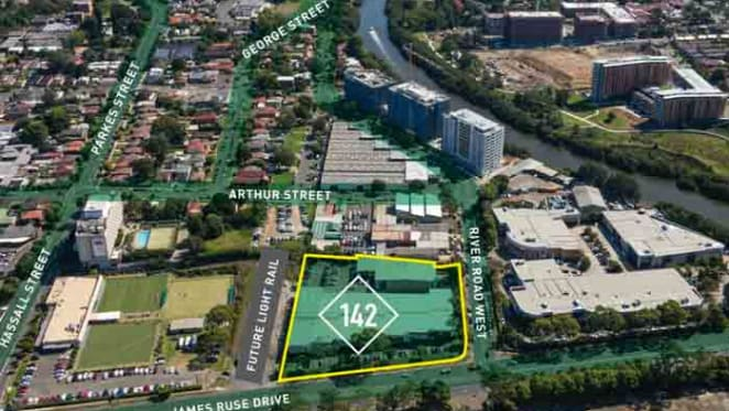 Gateway site in Parramatta with potential for mixed use up for sale