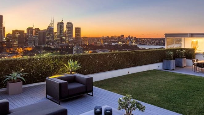 Cameron O'Reilly lists Top of the Town, Darlinghurst penthouse