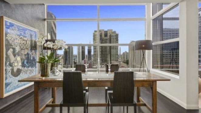 Exhibition Street, Melbourne penthouse under contract