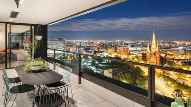 Businessman Greg Hargrave lists Melbourne penthouse