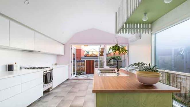 Upside down picket fence interiors sells Thornbury cottage