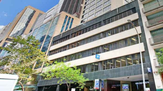 Whole Sydney CBD office level for sale