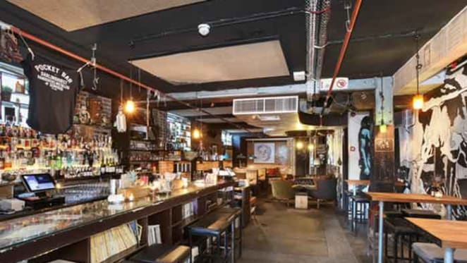 Sydney's Pocket Bar, Darlinghurst, up for auction
